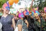Gay Community celebrates one year of Delhi High Court judgment decriminalising (section 377) homosexuality at Jantar Mantar, New Delhi on 2nd July 2010. (Photo : Sanjay Rawat)