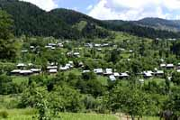 Scene at Lolab valley, Jammu and Kashmir, India on 1st July 2013. (Photo: Sanjay Rawat/Outlook).