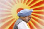 Indian Prime Minister Manmohan Singh attends the inauguration of Indian Civil Services Day in New Delhi on 21st April 2010.