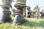 Special Task Force training camp / STF Training camp, Near Raipur, Chhattisgarh on 15th October 2009.